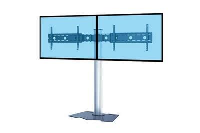 Support Mural Pour Ecran Plat Kimex Support Sur Pied Pour Ecran Tv 37 70 Hauteur 150cm Max Darty