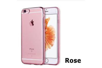 coque iphone 5 silicone rose