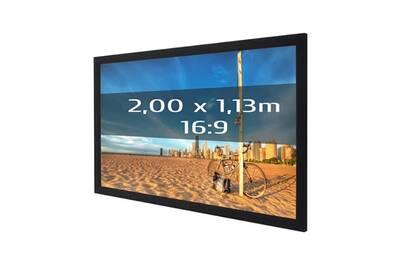 Ecran de projection KIMEX Ecran de projection sur cadre 2,00