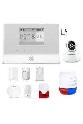 alarme maison securitegooddeal kit alarme maison sans fil gsm appure darty. Black Bedroom Furniture Sets. Home Design Ideas