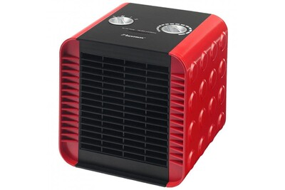 Radiateur à eau chaude Helloshop26 Radiateur chauffage soufflant en céramique 1 500 watts rouge pratique design moderne et élégant helloshop26 3902047