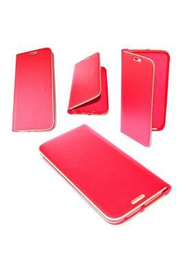 coque smartphone etui housse cuir pu premium folio rouge pour samsung galaxy j7. Black Bedroom Furniture Sets. Home Design Ideas