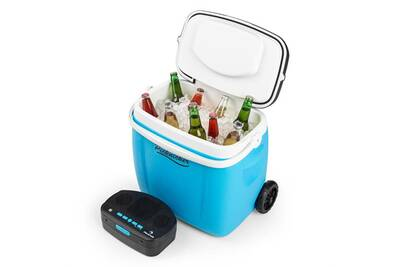 glaci re lectrique auna picknicker trolley glaci re 36 litres sono portable avec support pour. Black Bedroom Furniture Sets. Home Design Ideas