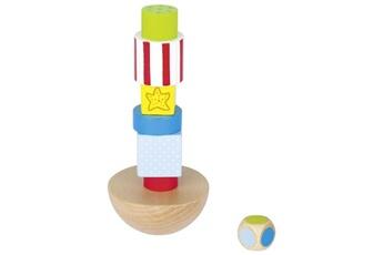 Jeux ludo éducatifs Goki La tour en équilibre - jeu d'adresse - goki 56668