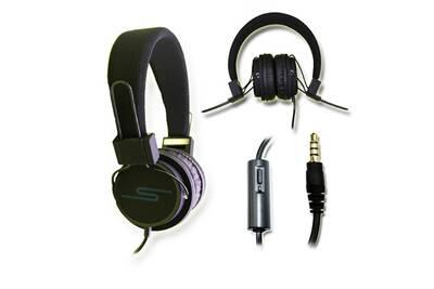 Accessoires Téléphone Ph26 Casque Audio Stéréo Noir Extra Bass
