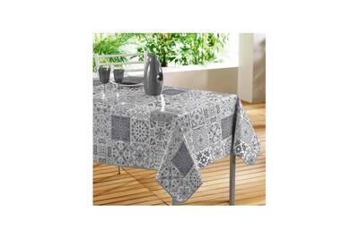 nappe home maison nappe rectangulaire en pvc impression. Black Bedroom Furniture Sets. Home Design Ideas