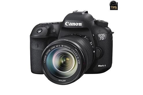 Canon Eos 7d mark ii + w-e1 + 18-135 is stm