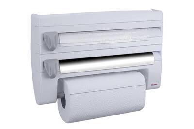 Dérouleur Coupe Film Papier Essuie Tout Aluminium 254410 Metaltex