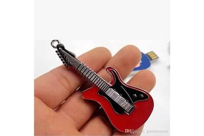 Clé USB TNT Mag Clé usb 64go guitare rouge