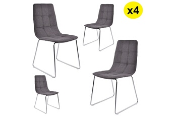 Chaise et tabouret Le Stock Design | Darty
