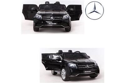 Mercedes Places Grand 2 4x4 24v 24 Vraie Noir Enfant Volts Voiture Électrique QCoWerxdB