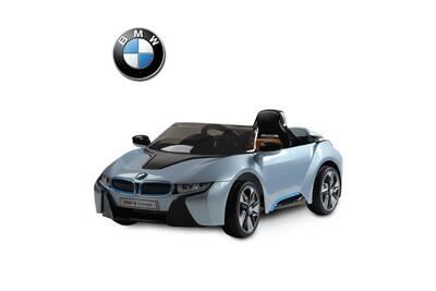 v hicule lectrique bmw bmw i8 voiture v hicule lectrique pour enfants 3 8 ans 2 moteurs 6 v 3. Black Bedroom Furniture Sets. Home Design Ideas