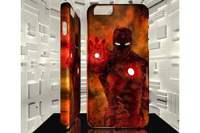 coque iphone 8 iron man