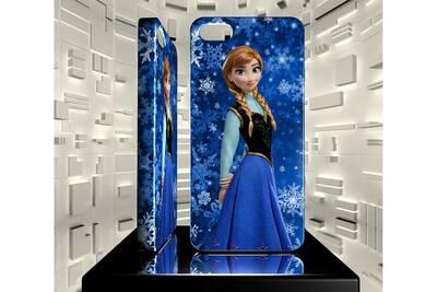 Coque iphone 5s anf la reine des neiges anna 01