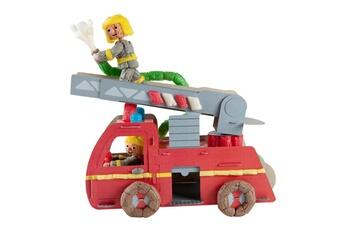 Pâte à modeler et bougie Playmais Playmais classic fun to play : camion de pompier