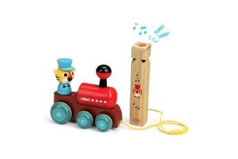 Jouets premier âge VILAC Jouet à traîner et son sifflet : la locomotive par ingela p. Arrhenius