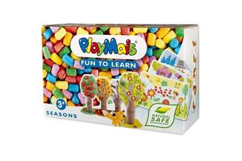 Pâte à modeler et bougie Playmais Playmais classic : fun to learn : les saisons