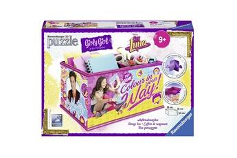Coffre à jouets RAVENSBURGER Boîte de rangement puzzle 216 pièces : soy luna girly girl
