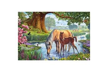 Puzzles Schmidt Puzzle 150 pièces : chevaux dans le ruisseau