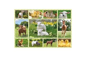 Puzzles Schmidt Puzzle 100 pièces : les jeunes animaux de la ferme