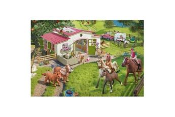 Puzzles Schmidt Puzzle 100 pièces : promenade à cheval dans la nature