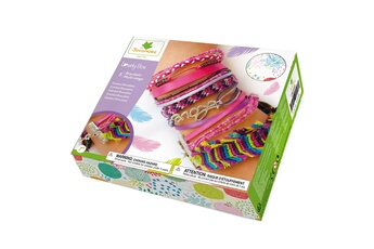 Mode et stylisme AU SYCOMORE Coffret lovely box : création de bracelets multi-rangs