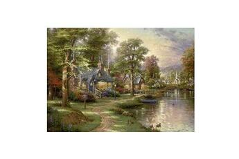 Puzzles Schmidt Spiele Puzzle 1500 pièces - thomas kinkade : la maison sur le lac