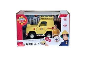 Véhicules miniatures SMOBY 4x4 de sam le pompier