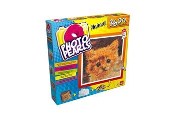 Autres jeux créatifs Goliath Kit photo pearls : chat