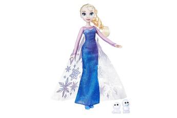 Poupées Hasbro Poupée la reine des neiges (frozen) : magie des aurores boréales : elsa