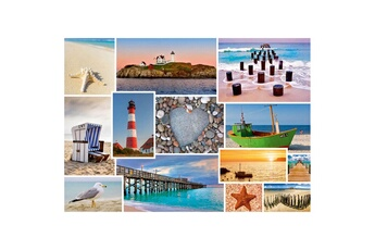 Puzzles Schmidt Puzzle 1000 pièces : a la mer