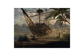 Puzzles Schmidt Puzzle 1000 pièces: bateau au port