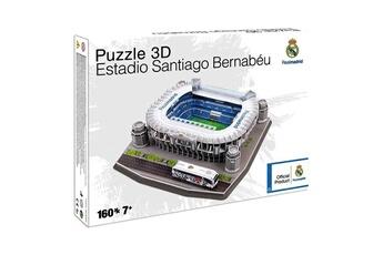 Puzzles Mega Bleu Puzzle 3d 160 pièces : stade de foot : santiago bernabéu (real madrid)