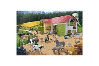 Puzzles Schmidt Puzzle 40 pièces : journée à la ferme