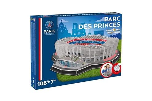 Puzzle 3d 108 pièces : stade de foot : parc des princes (paris saint-germai