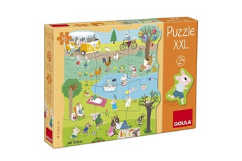 Puzzles Goula Puzzle xxl 16 pièces : une journée à la campagne