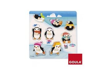 Puzzles Goula Puzzle en bois 8 pièces : pingouins
