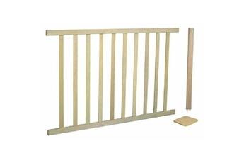 Barrière de sécurité bébé ROBA Extension de sécurité pour barrière variable roba 100x75cm - bois naturel