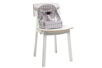 Rehausseur de chaise Baby To Love Rehausseur easy up babytolove 'white stars' - gris