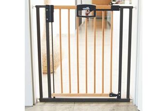 Barrière de sécurité bébé Geuther Barrière de sécurité pour portes geuther easylock wood 80,5 - 88,5 cm sans perçage