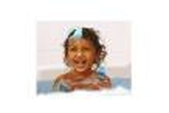 Jouet de bain Tinti Mousse de bain bleue tinti