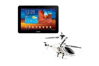 Samsung Pack tablette galaxy tab 10.1 wifi - 16 go avec e-hélicoptère