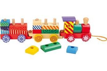 Jouets premier âge SMALL FOOT Train multicolore