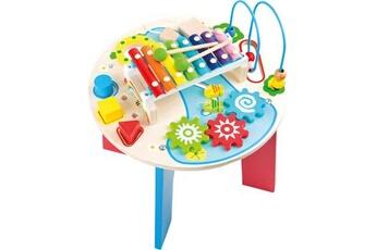 Jouets premier âge SMALL FOOT Table de motricité et de musique « 2 en 1 »