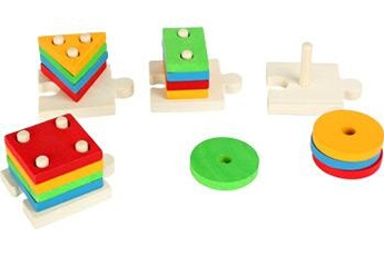 Jouets premier âge SMALL FOOT Jeu de formes à empiler