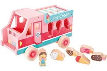 Jouets premier âge SMALL FOOT Camion glacier \