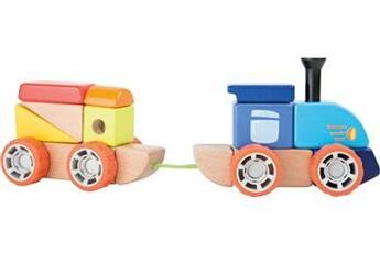 Jouets premier âge SMALL FOOT Kit de construction train