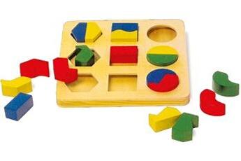 Jouets premier âge SMALL FOOT Puzzle à encastrer paires de formes