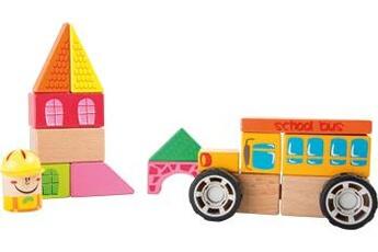 Jouets premier âge SMALL FOOT Kit de construction bus scolaire