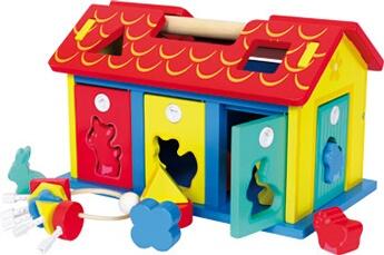 Jouets premier âge SMALL FOOT Maison à encastrer \